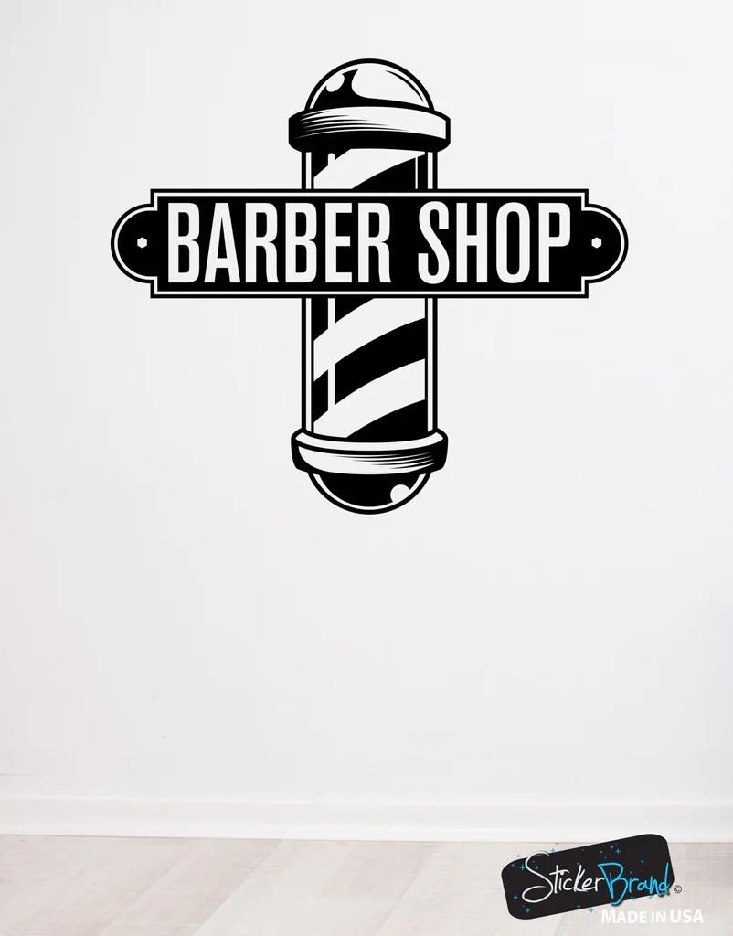 Barbershop Sign Vinyl Wall Decal Sticker 6065