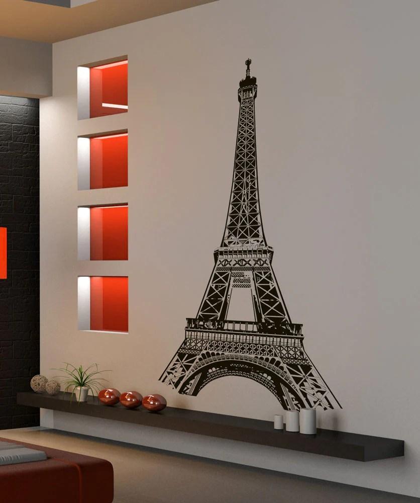 Eiffel Tower Wall Decal Eiffel Tower Stickers For Walls