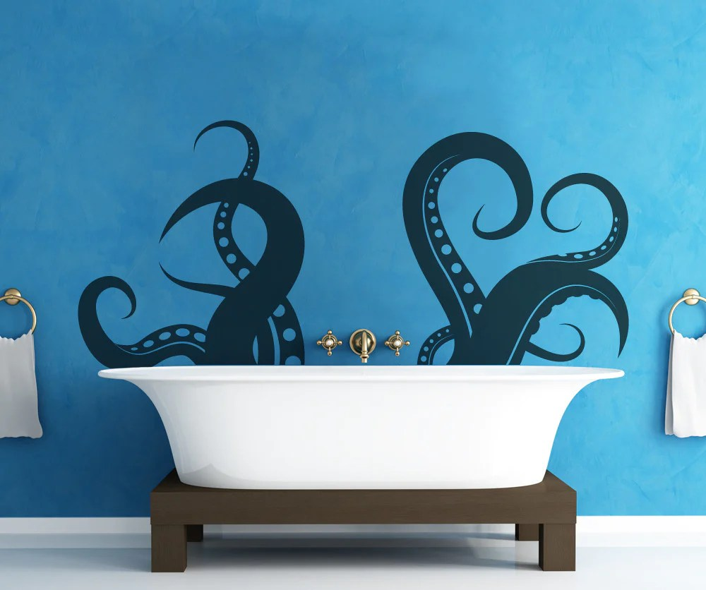 vinyl wall decal sticker tentacles os mb