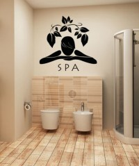 Vinyl Wall Decal Sticker Spa Design #OS_AA1388