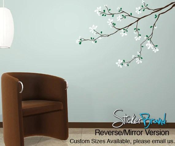 vinyl wall decal sticker flower tree branch