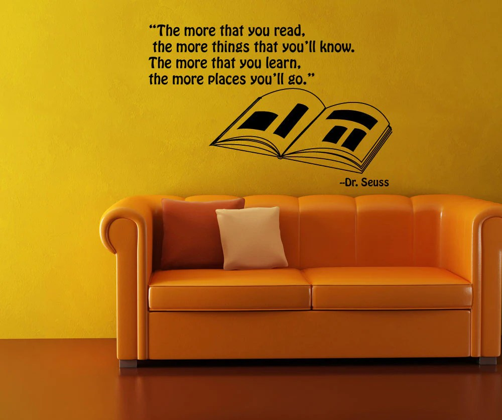 Dr Seuss Quote Wall Decals - Home Design Ideas