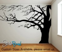Spooky Tree Wall Decal | Tree Sticker Wall Dcor