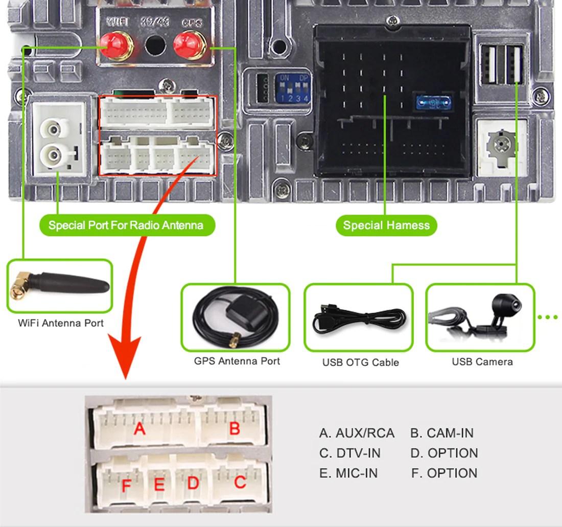 vw volkswagen android car stereo wiring diagram volkswagen skoda magotan passat jetta golf android car stereo [ 1100 x 1031 Pixel ]