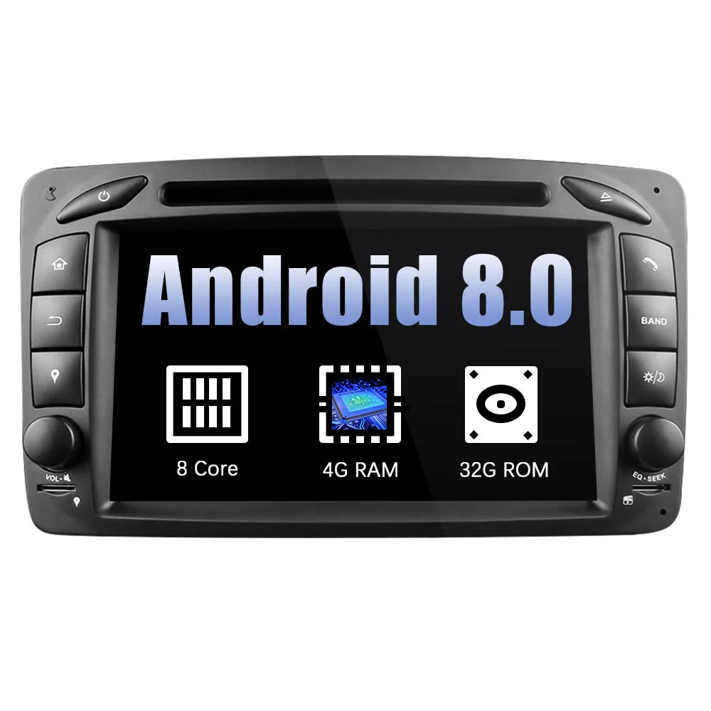 small resolution of mercedes benz c class w203 android car stereo