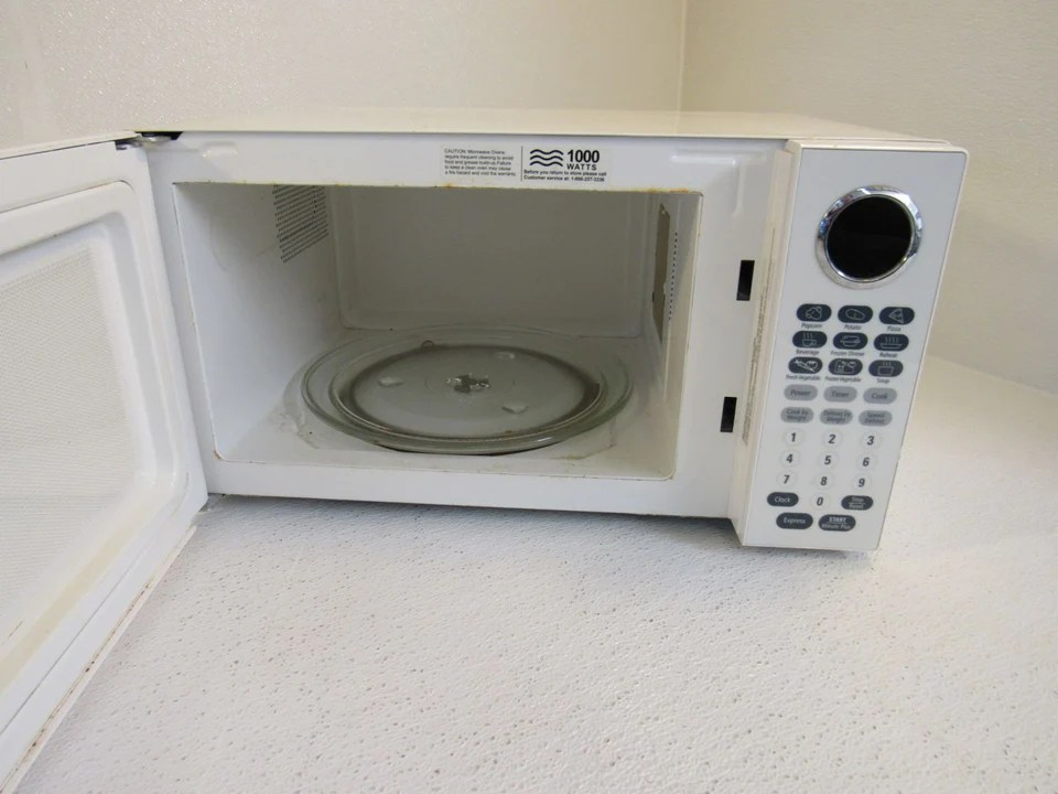 oster countertop turntable microwave