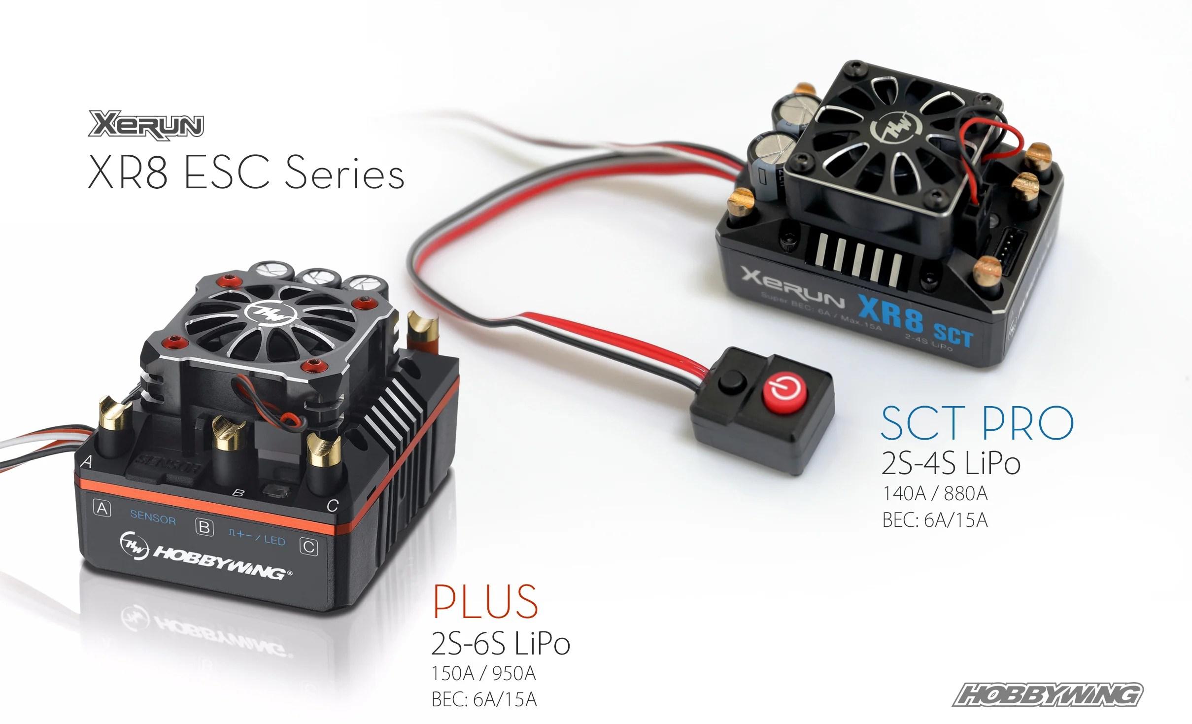medium resolution of xerun xr8 esc series hobbywing north america north american edition electrical wiring harness with eicv escv