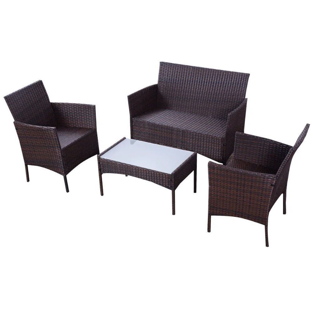 Wicker Table And Chairs | 1915 Pcs Set