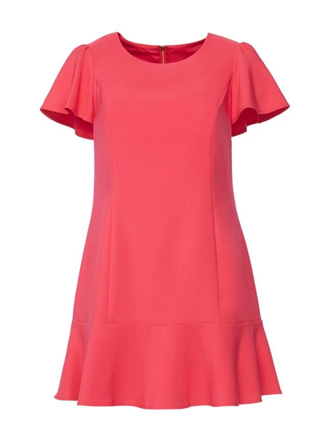 Poppy Ruffle Hem Dress