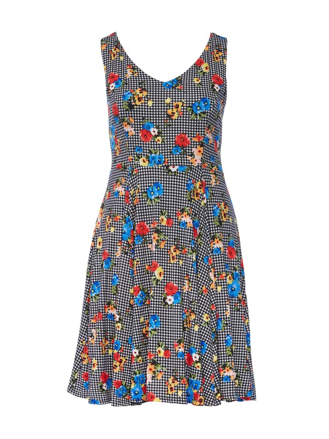 Picnic Delight Fit-And-Flare Dress