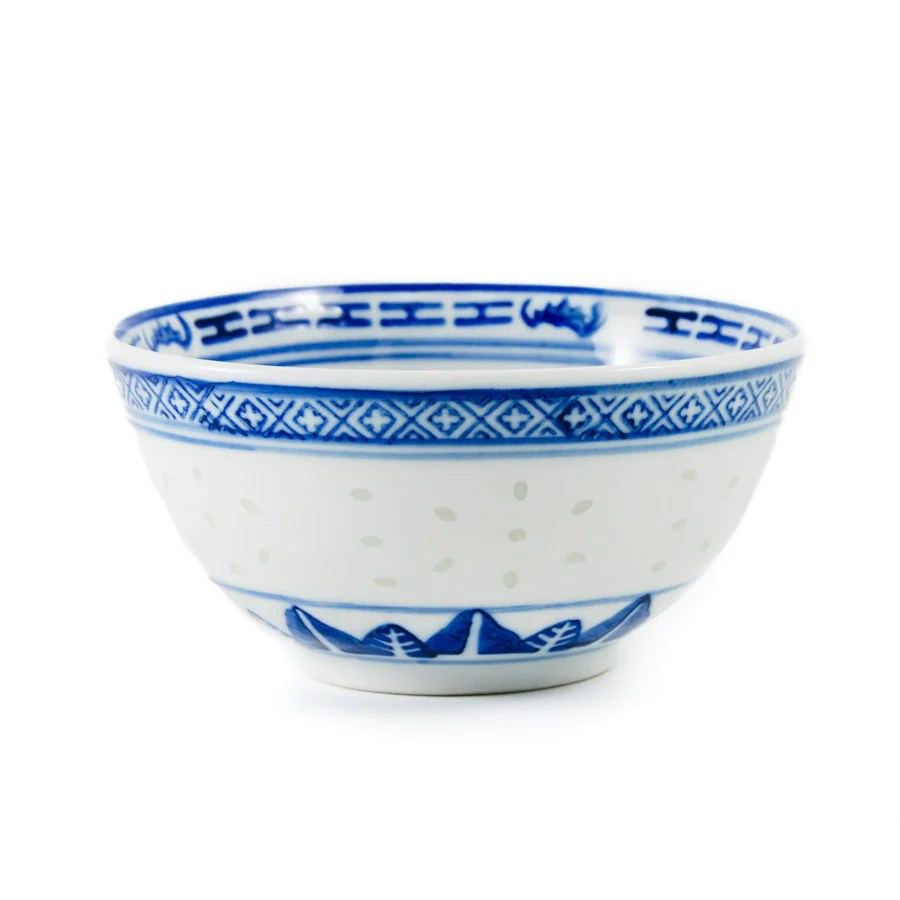 blue rice pattern rice