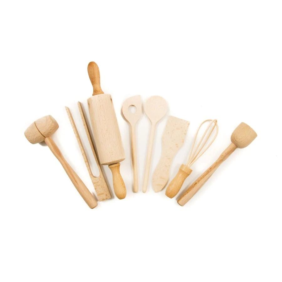 kitchen utensil sets hands free faucet children s wooden set buy online sous chef uk