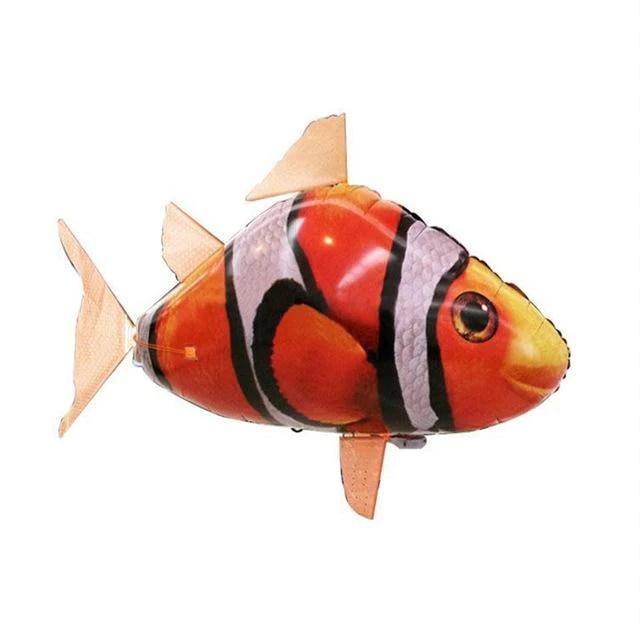 rc air swimming fish