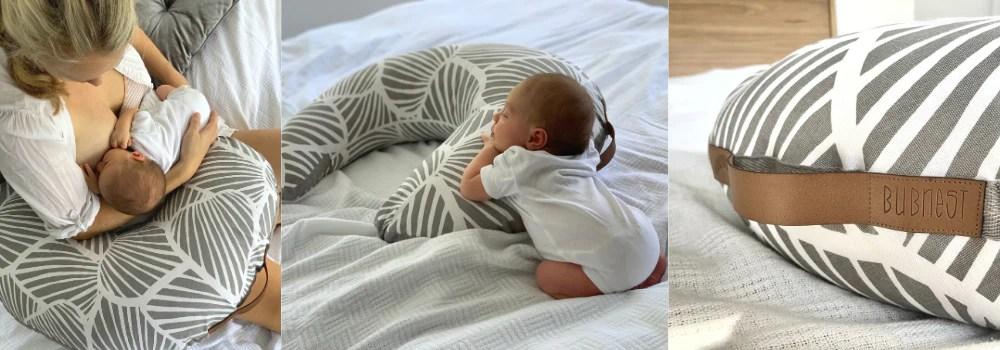 organic nursing pillow bubnest
