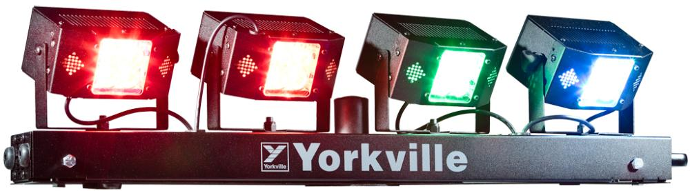 yorkville lp led4x led stage lighting system