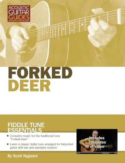 "Flatpick the Fiddle Tune ""Forked Deer"" – Acoustic Guitar"