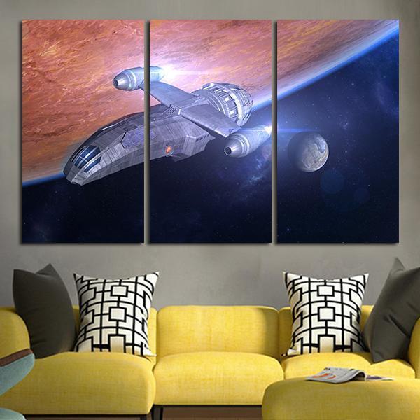 3 panel firefly scifi