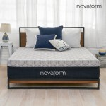 12 Overnight Recovery Gel Memory Foam Mattress King Novaform