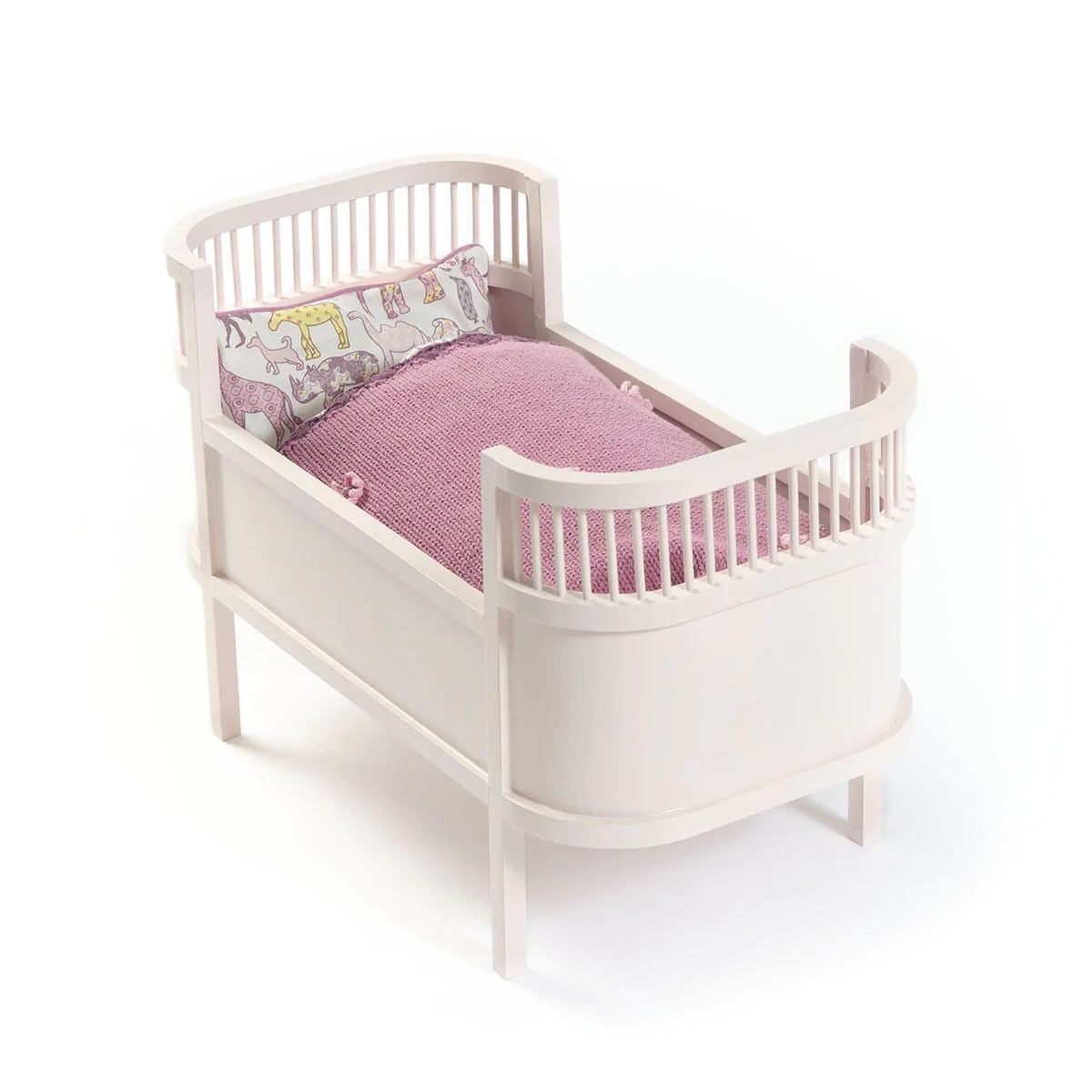 baby doll high chair toys r us covers for parties to buy petal pink danish cot smallstuff  little