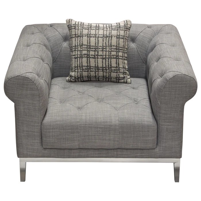 monroe tufted chair in