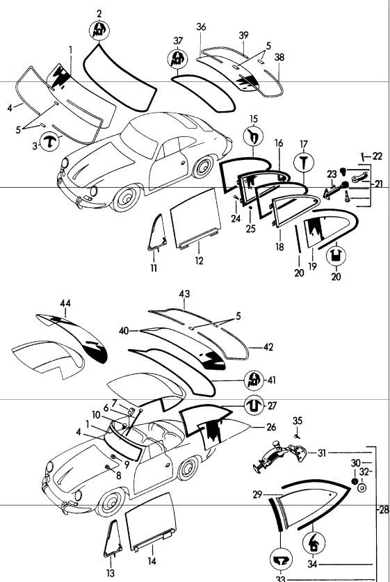 1965 Porsche Wiring Diagram