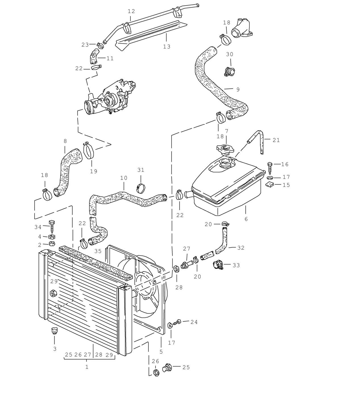 medium resolution of 944 radiator manual transmission 1983 89