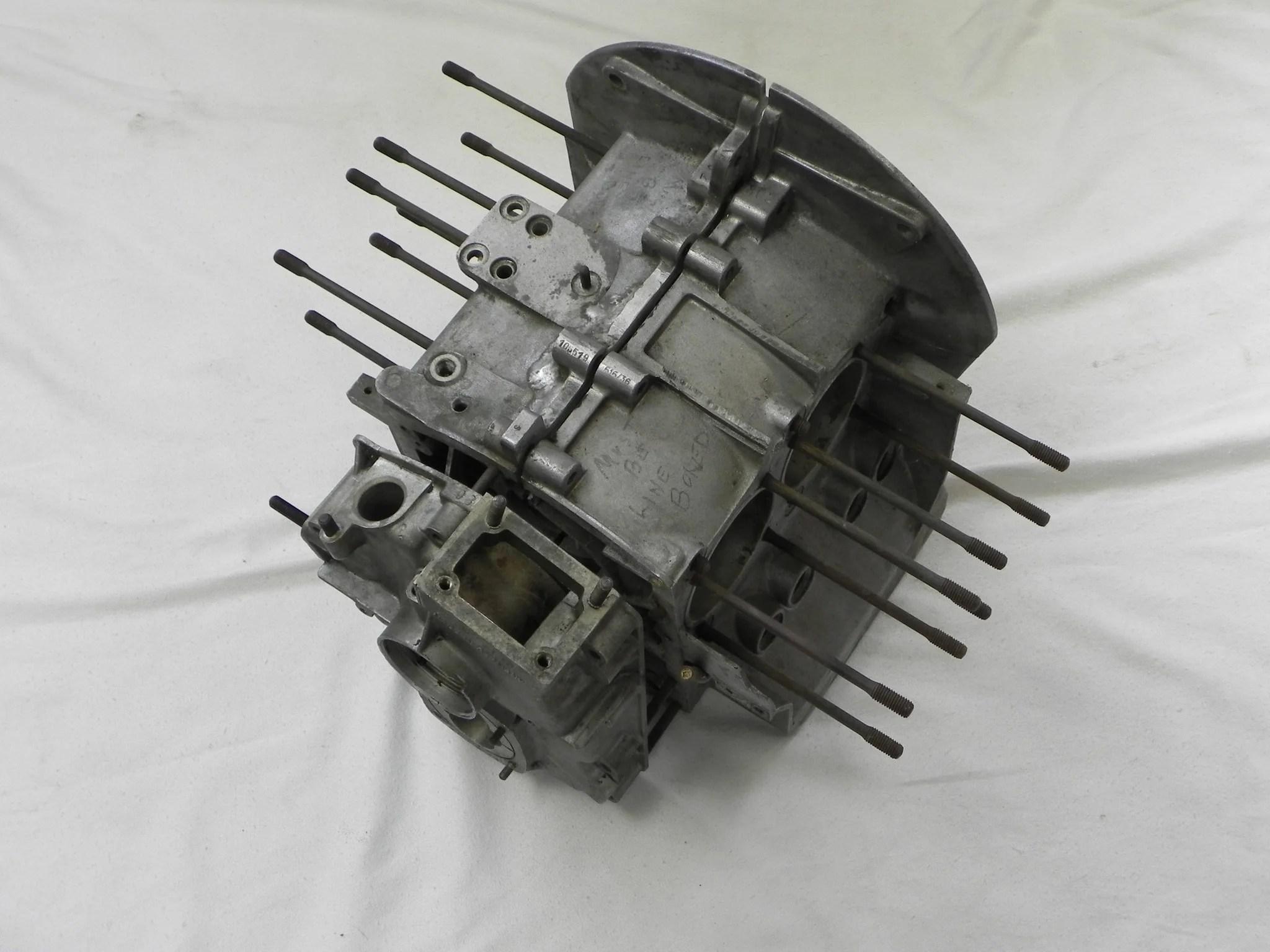 medium resolution of  used 912 engine case 616 36 1965 67