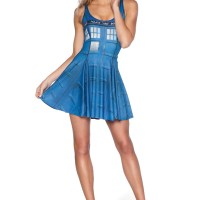 #DOCTORWHO – BLACK MILK CLOTHING | #TARDIS inside out scoop dress for your summery everyday also nights…