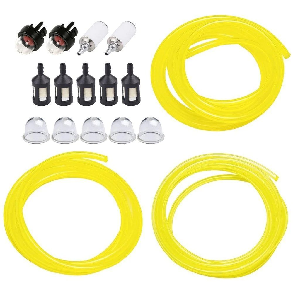 small resolution of huztl 5 feet 3 sizes fuel line hose with snap in primer bulb primer pouland