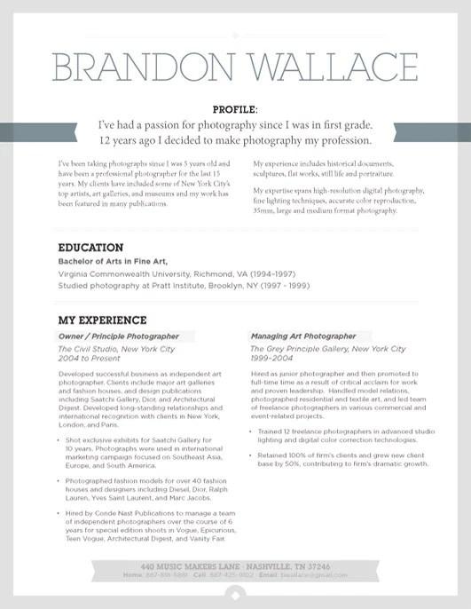 Resume Template Urban Shadow Grey Loft Resumes
