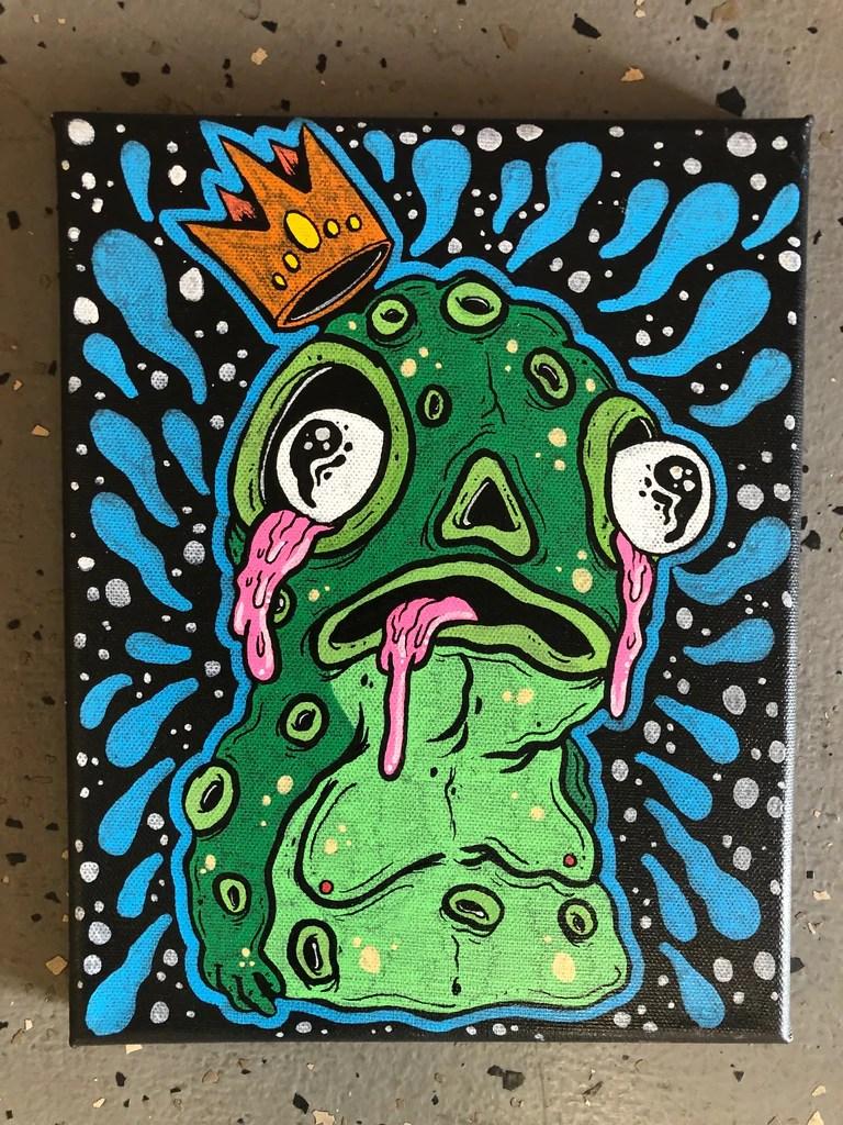 Slime Painting : slime, painting, Lulubell, Slime, Blurble