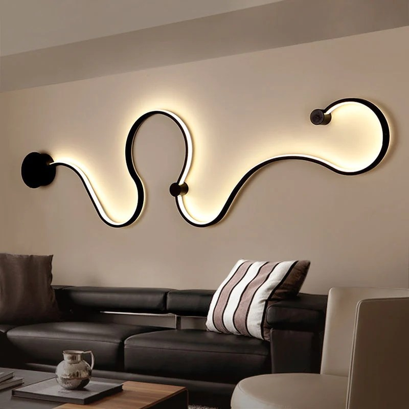 Nordic Creative Wall Light Led Bedroom Decoration Living Room Decorat Teme Store