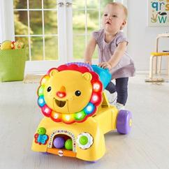 Fisher Price Sit And Play Chair Big Man Ottoman Stride Ride Lion Dragonchipstore