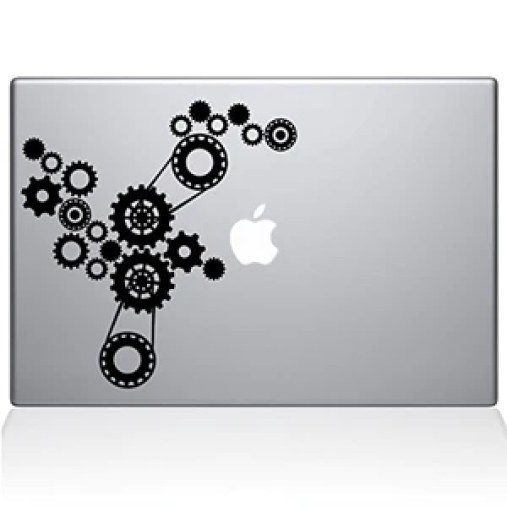 MacBook Steampunk Decal