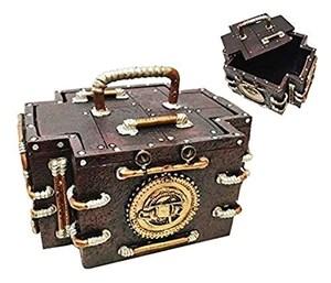 Steampunk Gauge Medic Jewelry Box