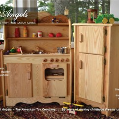 Wooden Play Kitchen Cabinet Hardware Ideas Kitchens And More Elves Angels All Are Now Available In Your Choice Of Pine Or Hardwood To See Pricing Simply Click The Drop Down Beside Any