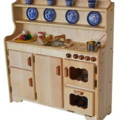 Wooden Play Kitchen Best Hoods Kitchens And More Elves Angels Grampie S Deluxe Hardwood