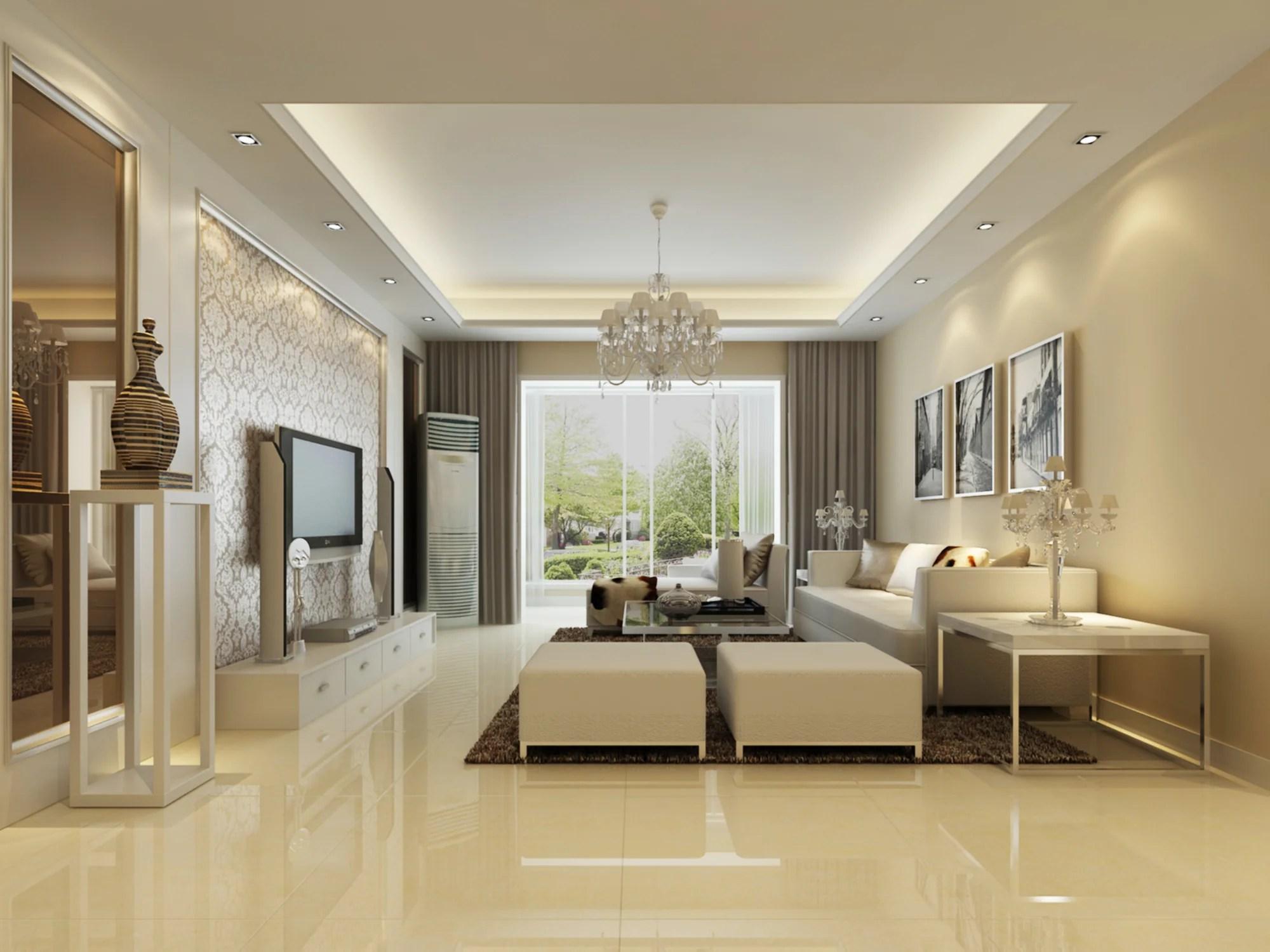 Gestaltung Wohnzimmer Mit Erker Raffrollos Für Die Gemütliche