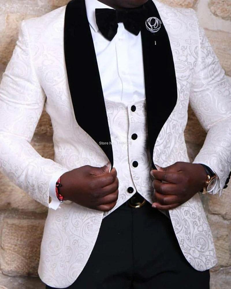 Mens Black And Dover White