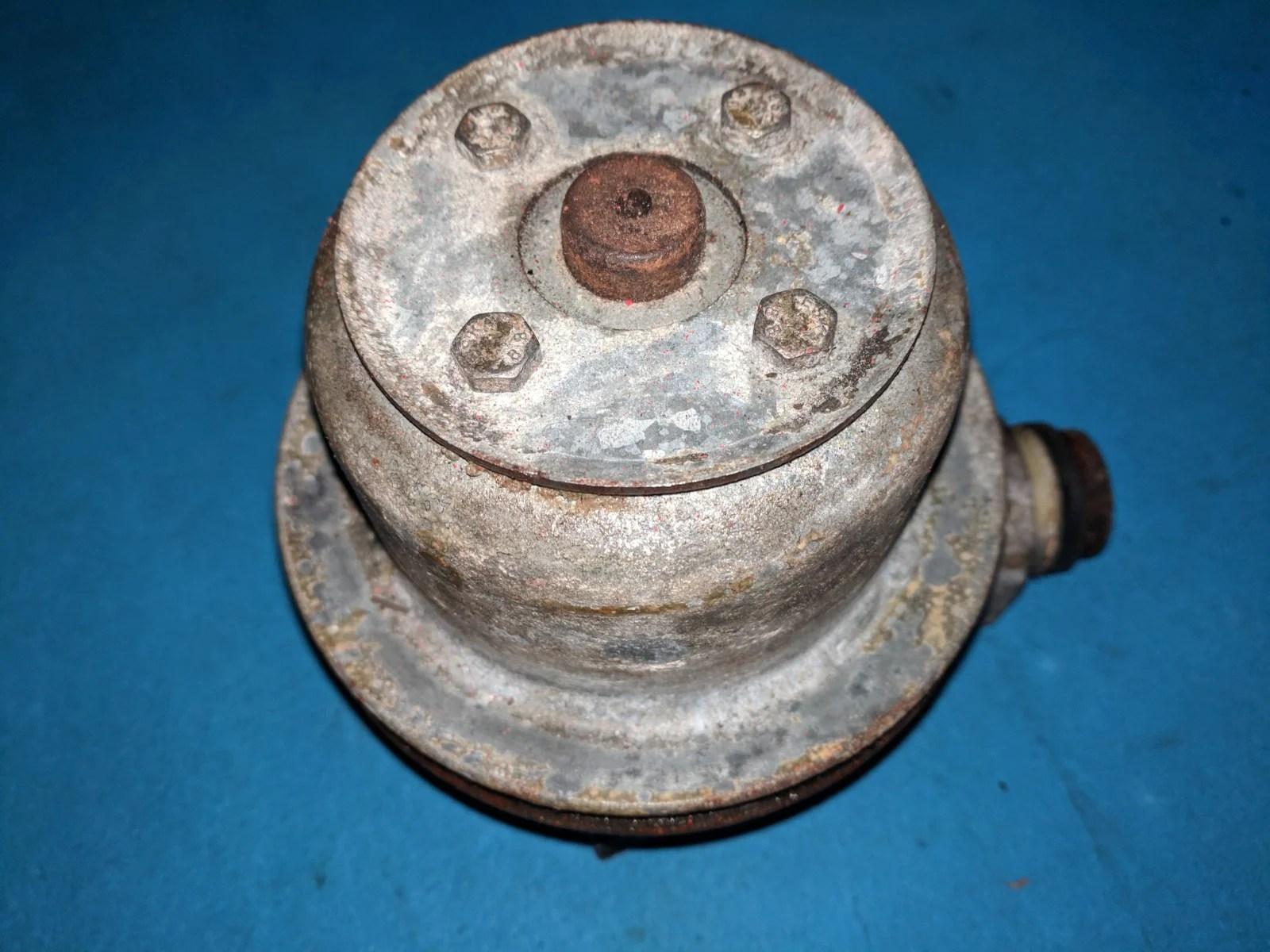 medium resolution of volvo penta circulating water pump aqq125a aq145a