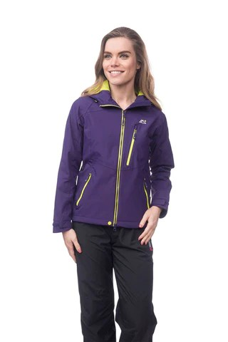 Target Dry Xtreme Series Echo Womens Waterproof Technical Jacket, Blackcurrant