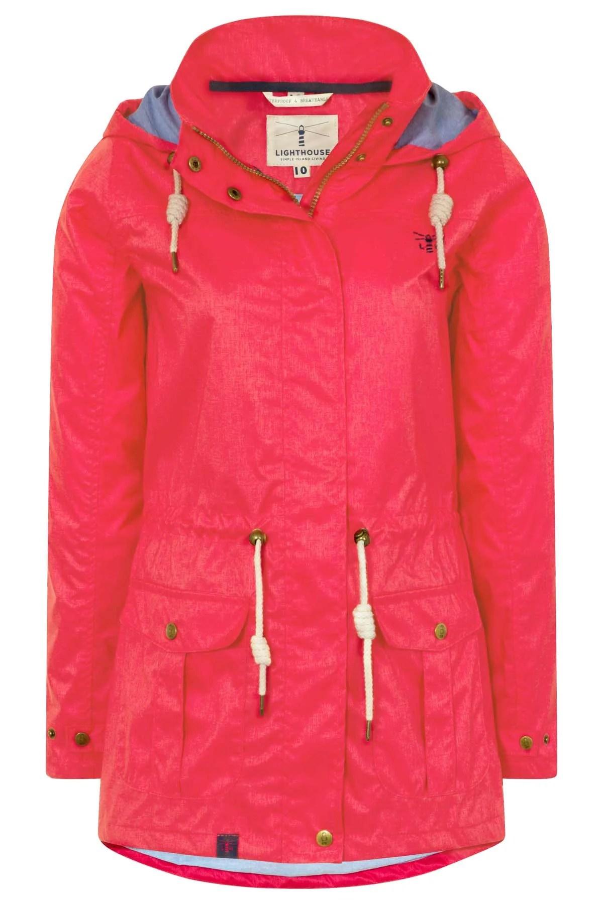 Lighthouse Fearne Waterproof Rain Coat Womens Raincoats
