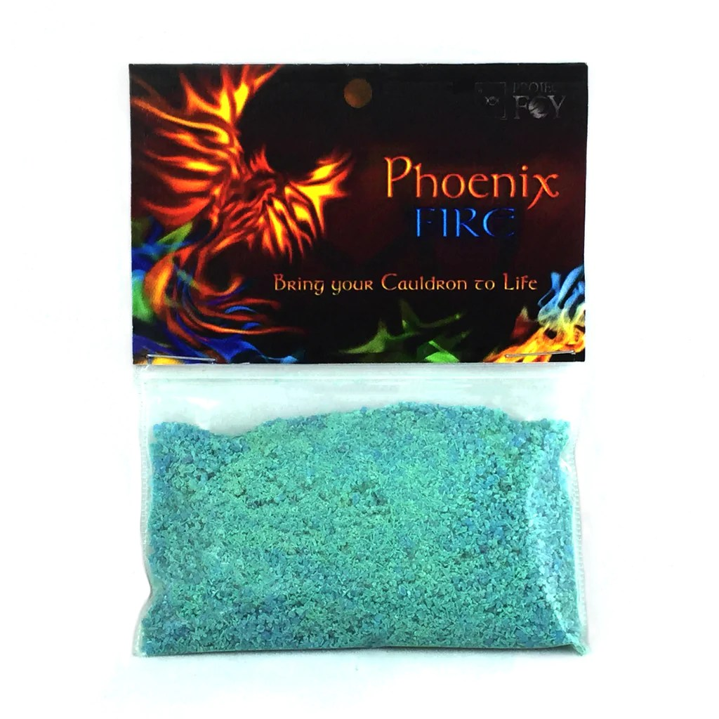Phoenix Fire Color Changing Fire Powder By Project Fey  Eartisans Wiccan  Pagan Products