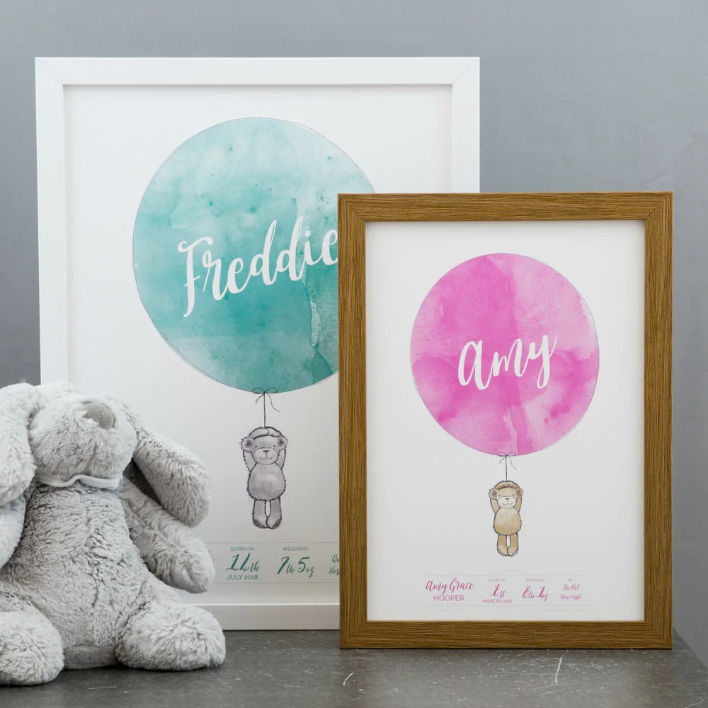 new baby gift personalised