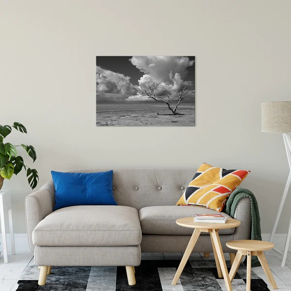 Wanderlust High Contrast Black and White landscape photograph as a limited edition, collectible signed museum quality canvas wall art print.