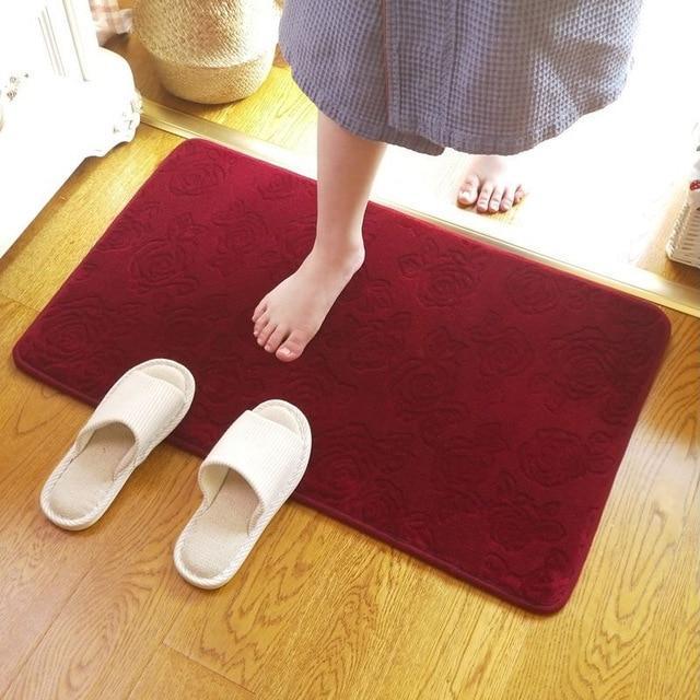 tapis de bain haut de gamme joli tapis