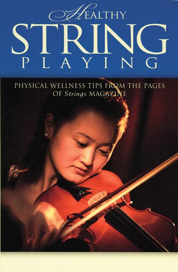 """Book cover for """"Healthy String Playing"""""""