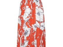 Kai Orange Floral Maxi Dress – Little Party Dress