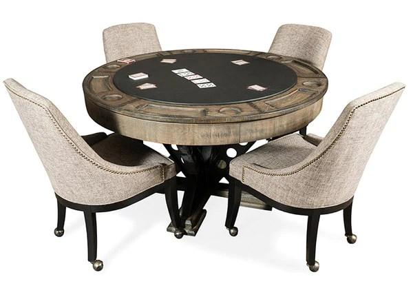 Presidential Billiards Vienna Poker Table Set  Chesapeake