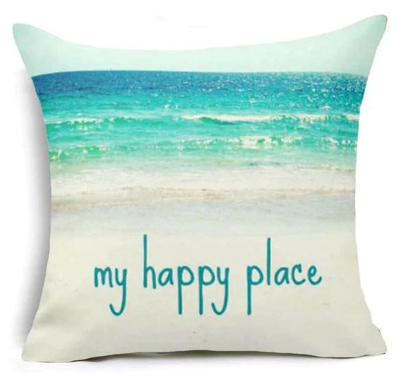 beach theme cushion covers 5 options party supplies beach company